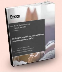 """Julia Rogozarski - Ebook """"Libérez le pouvoir de votre maison pour mieux vivre, enfin !"""""""