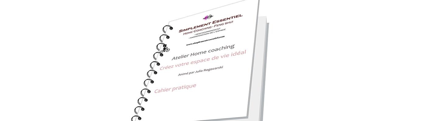 L'atelier «Home coaching – Créez votre espace de vie idéal»