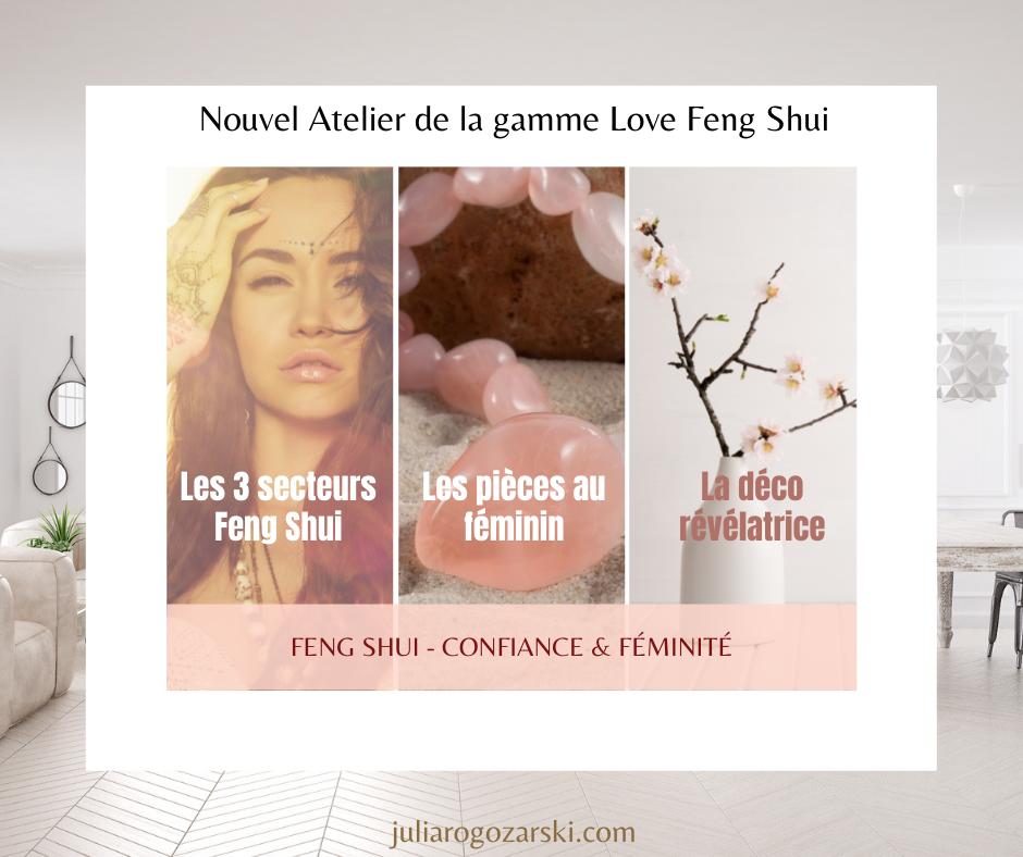 Julia Rogozarski - Feng Shui et féminité
