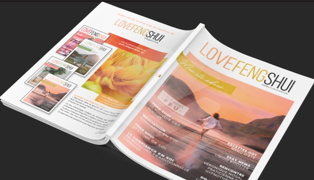Magazine Love Feng Shui - Julia Rogozarski